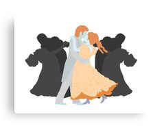 Waltzing Dead Canvas Print