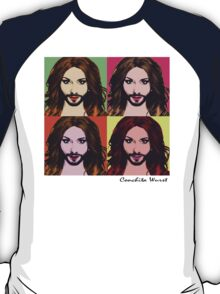 Conchita Wurst - Pop Art T-Shirt