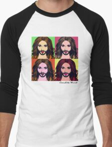 Conchita Wurst - Pop Art Men's Baseball ¾ T-Shirt