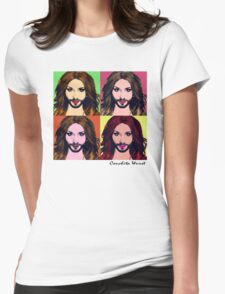 Conchita Wurst - Pop Art Womens Fitted T-Shirt