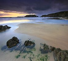 Pembrokeshire: Marloes Sands by Angie Latham