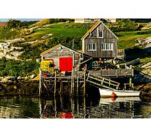 Evening at Peggys Cove Photographic Print