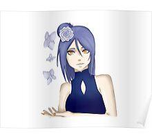 Konan from Naruto Poster