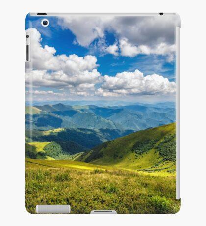 hillside meadow in mountain iPad Case/Skin