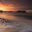 Sunset: Cromer Pier, Norfolk, United Kingdom by Ursula Rodgers Photography