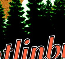 GATLINBURG TENNESSEE GREAT SMOKY MOUNTAINS NATIONAL PARK SMOKIES MOUNTAIN PINES Sticker