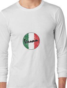 Italian Vespa Long Sleeve T-Shirt