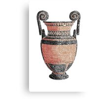 Greek Pottery Canvas Print