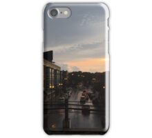 Sunset Dusk Shot From the Bryn Mawr Stop iPhone Case/Skin