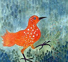 Bird Brain Rain Dance by Susan Greenwood Lindsay
