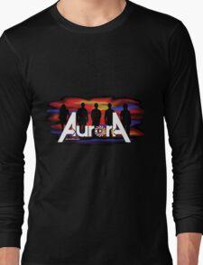 Aurora Logo 2017 - Auroradfw.com Long Sleeve T-Shirt
