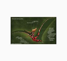 Male Pteranodon Sternbergi Muscles Unisex T-Shirt