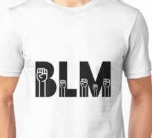 BLM - Black Lives Matter Fists Raised Unisex T-Shirt