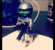 Lego Robocop minifig by MonkeyFondue