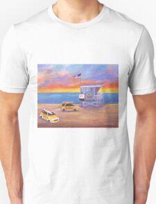 Redondo Beach Lifeguard Tower Unisex T-Shirt
