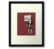 Fine Leather Jackets Framed Print