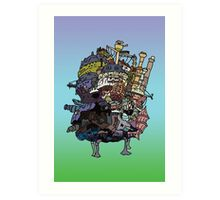 Moving Castle Art Print