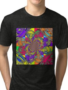 Colourful pattern 2 Tri-blend T-Shirt