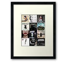 Album covers Framed Print