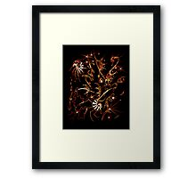 Neon Dream Picture.. Framed Print