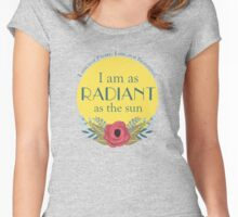 As the Sun Women's Fitted Scoop T-Shirt