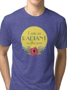 As the Sun Tri-blend T-Shirt