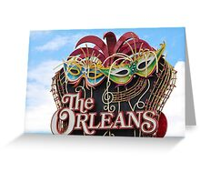 The Orleans Hotel & Casino Greeting Card