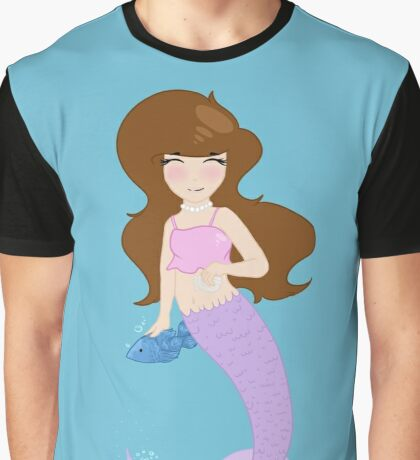 Mermaid Graphic T-Shirt