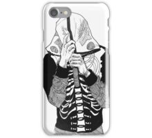 only bones remain iPhone Case/Skin