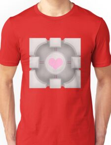 Weighted Companion Cube (Portal 2) Unisex T-Shirt