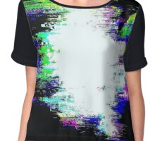 Glitch - Glare - MatchaAlan Chiffon Top