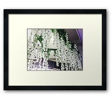 Lace and Love Framed Print