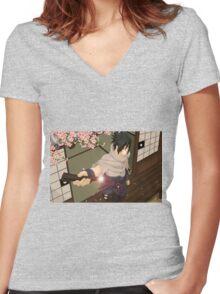 Sasuke Women's Fitted V-Neck T-Shirt