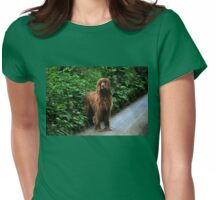 Can you help me - I'm lost? Womens Fitted T-Shirt
