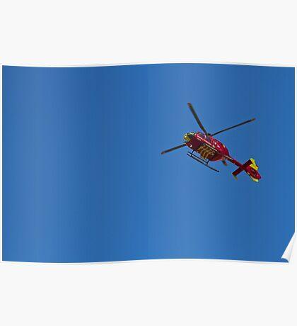 Chopper in the sky Poster
