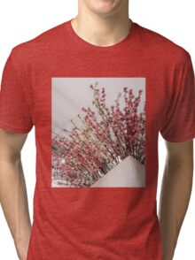 Peace and Pearls Tri-blend T-Shirt