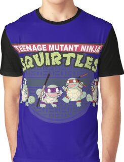 TEENAGE MUTANT NINJA SQUIRTLES T-SHIRT Graphic T-Shirt