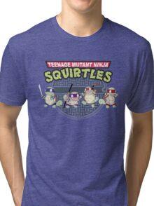 TEENAGE MUTANT NINJA SQUIRTLES T-SHIRT Tri-blend T-Shirt