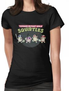 TEENAGE MUTANT NINJA SQUIRTLES T-SHIRT Womens Fitted T-Shirt