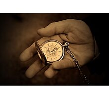 As time goes by... Photographic Print