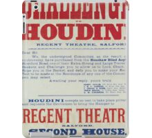Performing Arts Posters Challenge to Houdini Regent Theatre Salford 2844 iPad Case/Skin