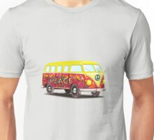 Volkswagen T1 - VW Bus Love and Peace Unisex T-Shirt