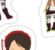 shingeki no kyojin trio Sticker
