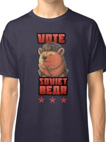 Russia says vote for Soviet Bear Classic T-Shirt