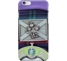 Tartan Special iPhone Case/Skin