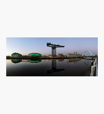 Clyde Waterfront After Sunset Photographic Print
