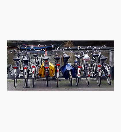 Bicycles, Amsterdam Photographic Print