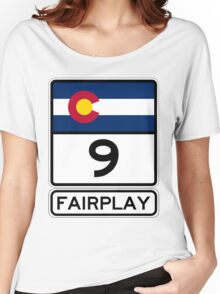 CO-9 Fairplay Colorado Women's Relaxed Fit T-Shirt