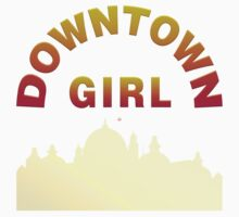 Just A Downtown Girl by Vy Solomatenko