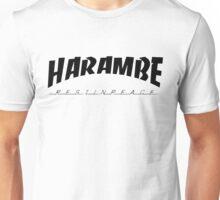 Harambe Thrasher Unisex T-Shirt
